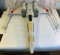 "Star Wars Vintage X-Wing Fighter 29"" HASBRO #2604"