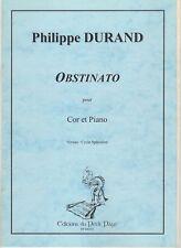 Obstinato pour Cor Et Piano
