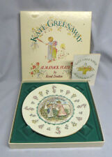 Royal Doulton Kate Greenaway Almanack March Aries Astrological Plate Mib
