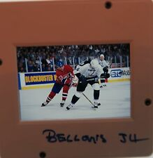 BRIAN BELLOWS Montreal Canadiens Capitals MIGHTY DUCKS  ORIGINAL SLIDE 3