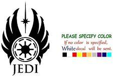 "STAR WARS JEDI ORDER Funny Vinyl Decal Sticker Car Window bumper laptop 7"""