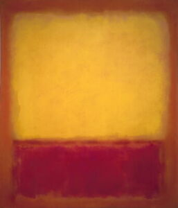 Mark Rothko Fig New.. Giclee Canvas Print Poster Reproduction
