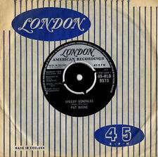 Pat Boone: Speedy Gonzales/The Locket '62 London Good playable copy - no issues!