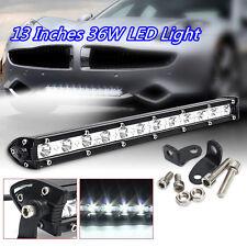 13 Inches Slim 36W CREE 12LED Waterproof Car Off-Road Working Lamp Bar Spotlight
