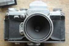 EDIXA REFLEX una telecamera + HEINZ Kilfitt Makro Kilar D 4 cm 1:3 .5 Lens