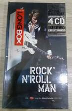 LONG BOX 4 CD JOHNNY HALLYDAY ROCK'N'ROLL MAN 1970-1984