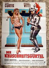 KEUSCHHEITSGÜRTEL * CURTIS - A1-FILMPOSTER -German 1-Sheet 1968 Chastity Belt