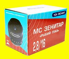 Lens MC ZENITAR-K f/2.8/16mm Fish Eye. Pentax Monte. NUOVA