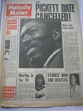 MELODY MAKER February 8th 1969 Wilson Pickett Lennon Fleetwood Mac Status Quo