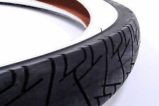 Kenda Whitewall Tire 26 x 2.125, White Sidewalls, Black Tread