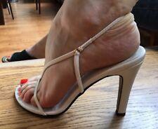 White Sexy Stylish Heels Sandals 36 US6