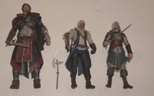 "ASSASSINS CREED 7"" BROTHERHOOD EZIO & TWO OTHER"