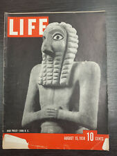 LIFE Magazine, August 15th 1938, High Priest- 3000BC