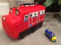 CHUGGINGTON Train Carry Case Wilson & BREWSTER FREE! LOT-2 Learning Curve For 17