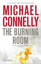Harry Bosch: The Burning Room by Michael Connelly (2014, Hardcover, Large Type)