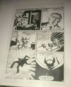 Batman Dark Knight Legends Secret Origin Gotham Wayne Production Art Acetate