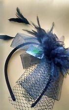 Ganz - Hair Accessory Feather Head / Hair Band - Black