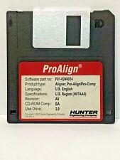 Hunter F01-0240024 WinAlign ProAlign Alignment Floppy Disk Software P-77