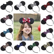 Fashion Baby Kids Headbands Mouse Ears Hair Hoop Bowknot Headwear Hair band 2017