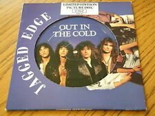 """JAGGED EDGE - OUT IN THE COLD  7"""" PICTURE DISC"""