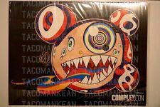 signed Takashi Murakami poster ComplexCon 2016 Mr Dob Rare kaikaikiki