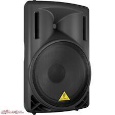Behringer B215D 2-Way Active Powered PA Loud Speaker (Black)