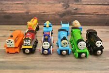 Thomas & Friends Sodor Railroad Mixed Lot of 10 Wooden Magnetic Trains