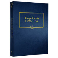Large Cents Coin Album 9110 Folder 1793 1857 Whitman Binder Free US Shipping NEW
