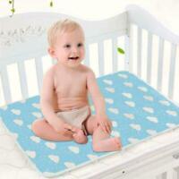 Baby Diaper Changing Mat Cotton Cartoon Baby Waterproof Sheet Mattress 2019 P3E0