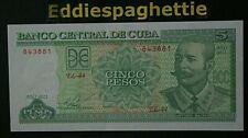 C u b a 5 Pesos 2011 UNC P-116l