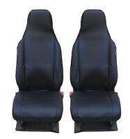 2x Sitzbezüg Sitzbezug  Schonbezüge Schwarz Satz