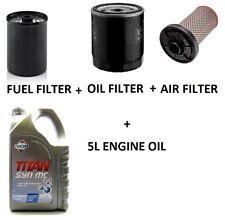 TALBOT EXPRESS 13 CC DIESEL   SERVICE KIT OIL AIR FUEL FILTERS + ENGINE OIL