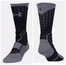 """Under Armour ~ Warriors Steph Curry ArmourBlockâ""""¢ Performance Crew Socks $20 Nwt"""