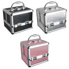 Aluminium Hard Make Up Travel Storage Box Cosmetic Beauty Vanity Case Organiser