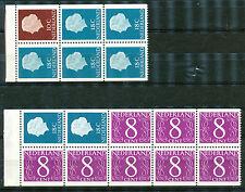 Nederland inhoud van boekjes  3 en 4 postfris