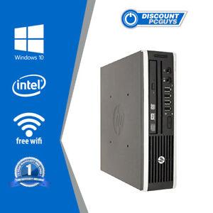 HP Elite 8300 Desktop PC Ultra-Slim i3 8GB RAM 250GB HDD WIN 10 PRO Wifi Ready!