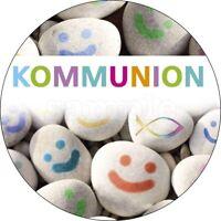 Kommunion Tortendeko Tortenaufleger Party Deko Muffin Kerze Kirche neu