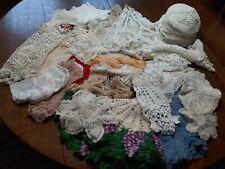 New listing Estate Lot 57 Vintage Antique Crocheted Doilies Fancy Work