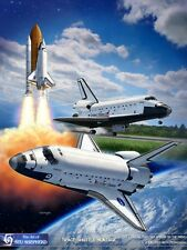ART PRINT: Space Shuttle Montage - Print by Shepherd