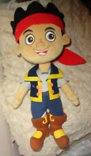 Disney Exclusive Jake and the Neverland Pirates Plush Stuffed Embr Features