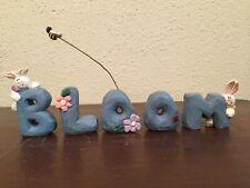Eddie Walker Letters Spell Bloom Spring Rabbit Bee Ladybug Flowers