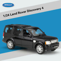 Welly 1:24 Land Rover Discovery 4 Black SUV Collection Diecast Model New In Box