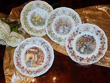 4 Teller Tea Plate 16 cm Brambly Hedge Jill Barklem 4 Jahreszeiten neu