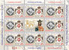 2012 Cristianesimo e araldica - Romania - minifoglio [8+1] [dal folder]