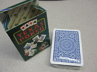 Modiano Playing Card Deck, TEXAS POKER HOLD EM, BLUE, Made in Italy, New
