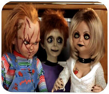 CHUCKY AND FAMILY MOUSE PAD - 1/4 IN. TV HORROR MOVIE MOUSEPAD