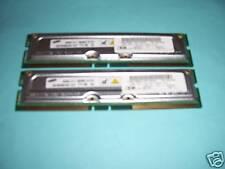 512MB SAMSUNG (2x 256MB) RIMM RAMBUS RDRAM ECC