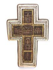 Ikone Altar Kreuz Holz Relief