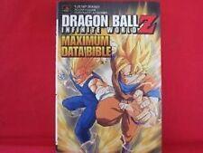 DRAGON BALL Z Infinite World Maximum Data Bible Guide Book / Playstation 2, PS2