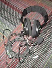TURTLE BEACH X12 EAR FORCE BLACK/GREEN AMPLIFIED STEREO GAMING HEADSET XBOX 360
